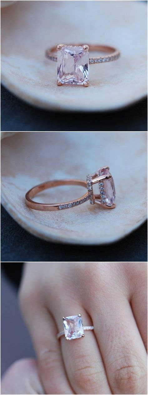 1000  ideas about Peach Engagement Rings on Pinterest