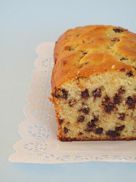 Cake ricotta e gocce di cioccolato
