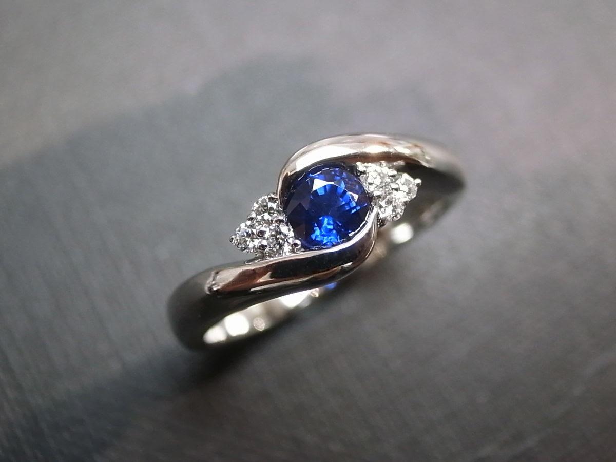 Resultado de imagen para blue garnet rings