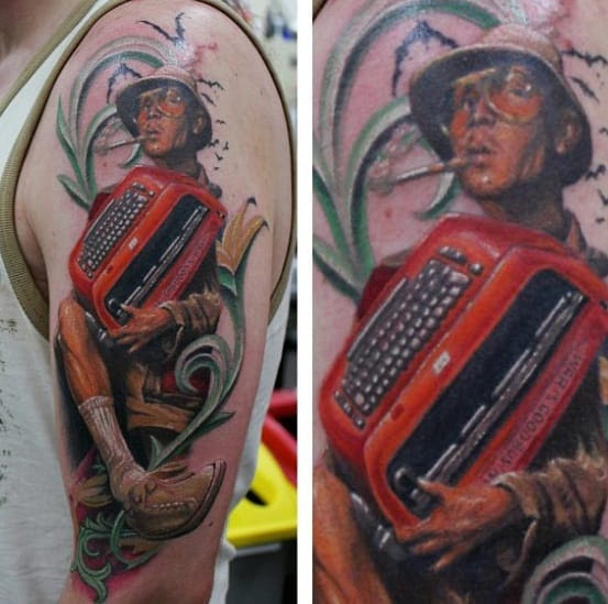 70 Hunter S Thompson Tattoo Designs For Men Fear And Loathing Ideas