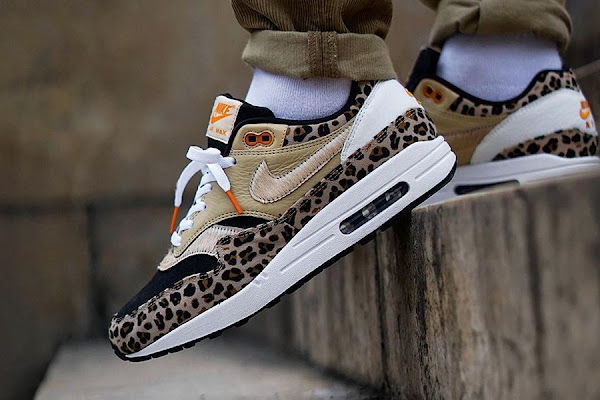 "timeless design 812a4 275c1 Custom Nike Air Max 1 ""Leopard""   More Feature in This Week s Best  Instagram Sneaker Photos"