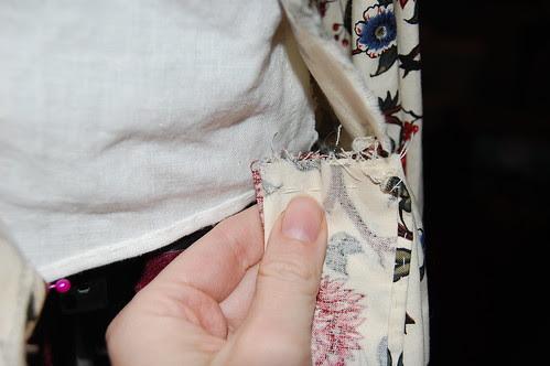 Cotton Print Sacque 5