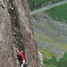 Jules soloing spider July 2011 2
