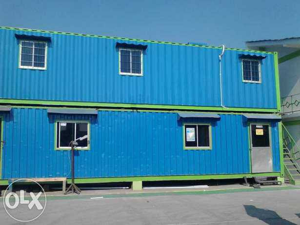Container office Size 40 Feet Susun - JUAL CONTAINER BEKAS ...