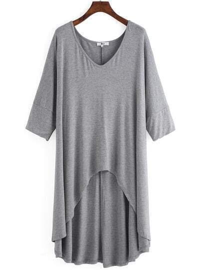 http://www.shein.com/Grey-V-Neck-Dip-Hem-Plus-T-shirt-p-233072-cat-1890.html?aff_id=1285