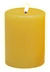Significadeo vela amarilla