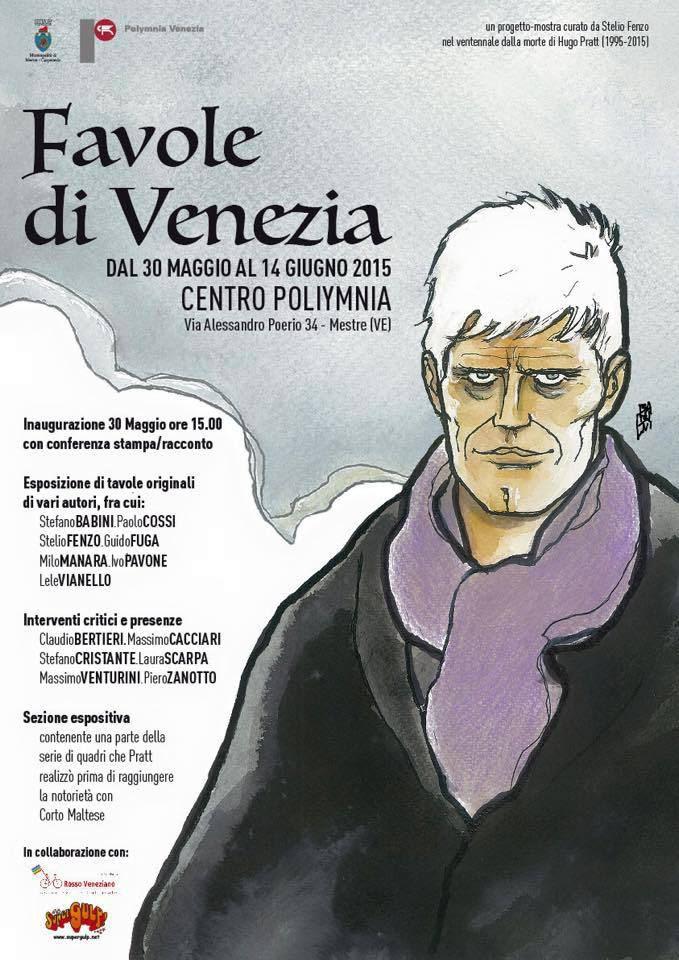 Rencontre sur Pratt à Venise