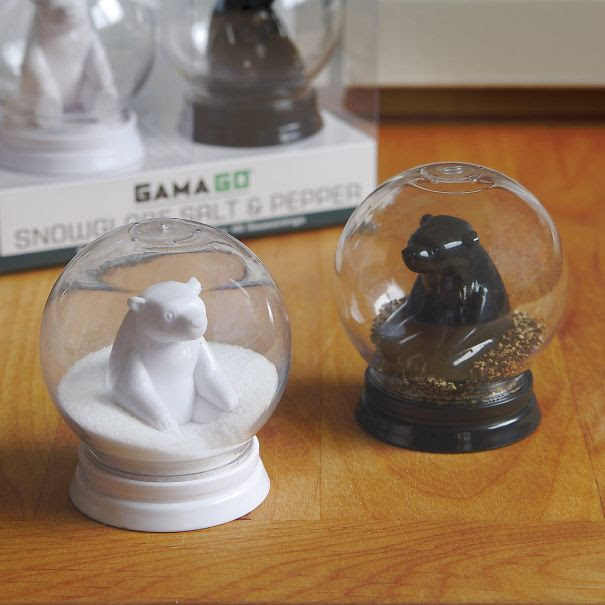 Snow Globe Salt And Pepper Shaker