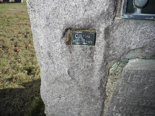 Original Headstone Plaque by midgefrazel