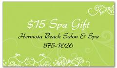 CPS-1063 - salon coupon card