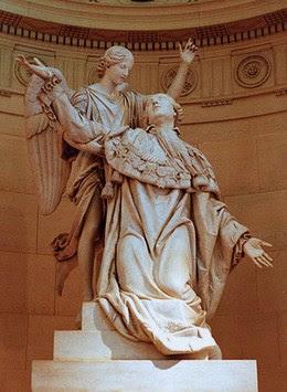 Statue du Roy martyr à la Chapelle Expiatoire