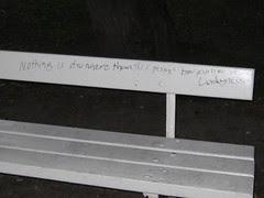 wisdom bench