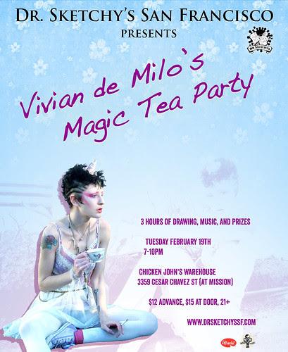 2.19.13 Dr Sketchy's presents Vivian de Milo