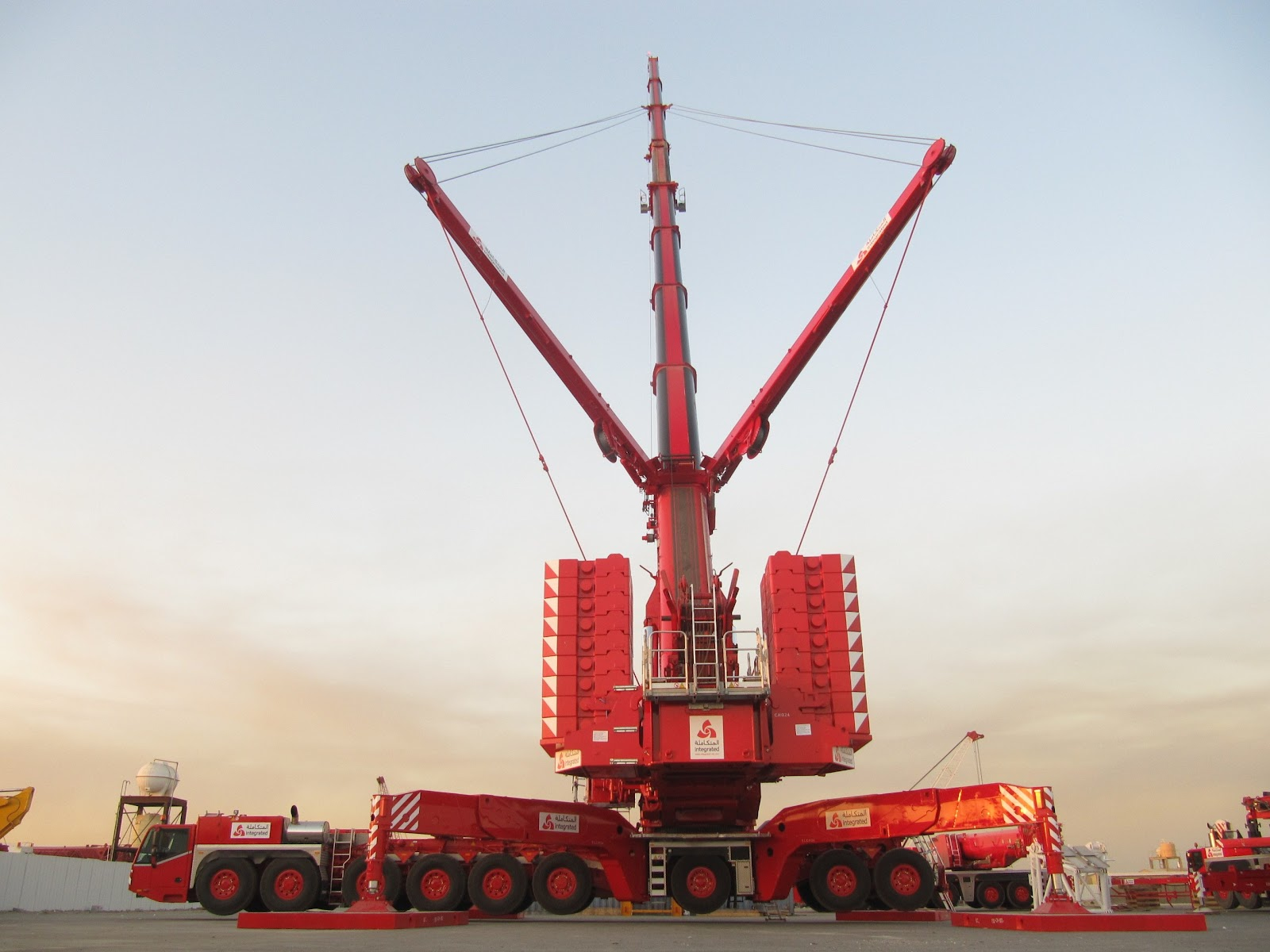 Mobile Crane Construction Truck Semi Tractor Ariel Cranes Boom Wallpaper 2592x1944 600427 Total Update