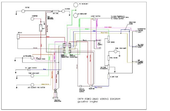 wiring diagrams for ford 2600 tractor image 3