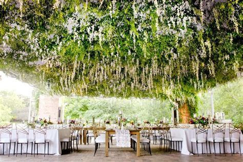 Custom flower ceiling / Tented Wedding / Outdoor Wedding