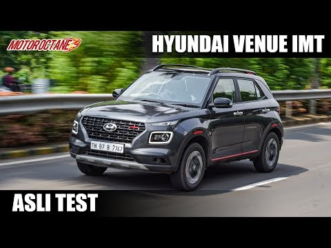Hyundai Venue iMT – Asli Test | Hindi | MotorOctane