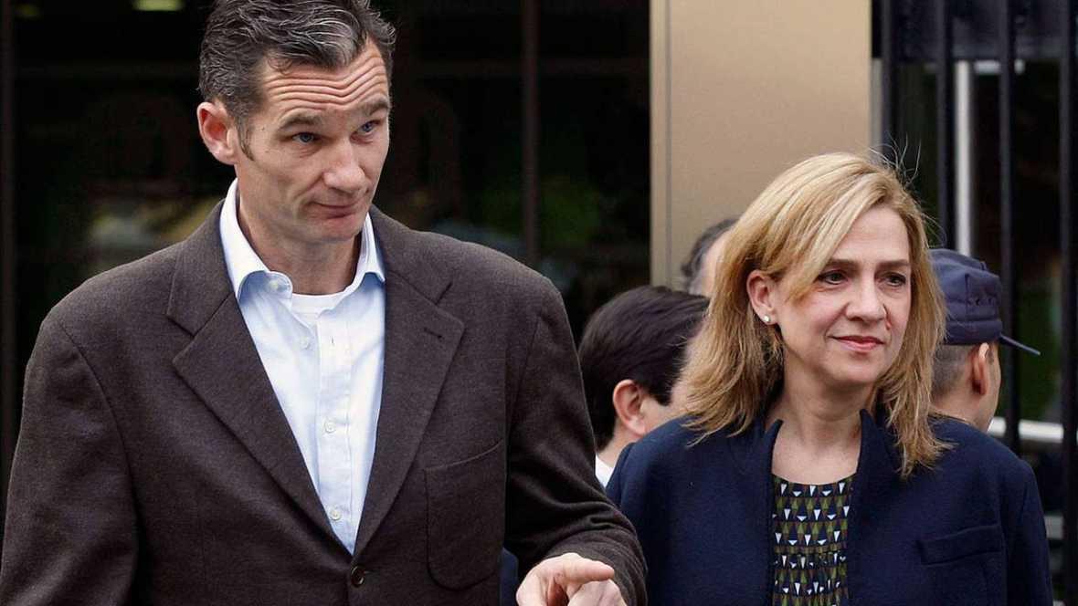 Iñaki Urdangarin y la infanta Cristina, dos de los 18 acusados que se sentarán en el banquillo en el juicio del caso Nóos.
