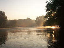 Milwaukee River near Cedarburg, Photo Courtesy of Milwaukee Sweetwater Trust.