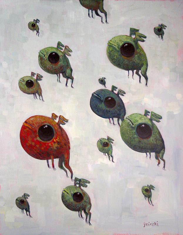 Migration of Frogs by jasinski