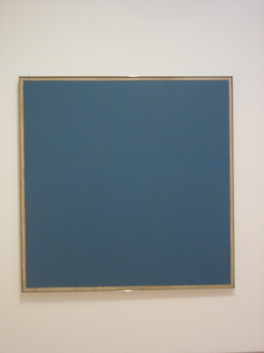 Night Sea, 1963, Agnes Martin // Calder to Warhol: Introducing the Fisher Collection, SFMOMA _6601