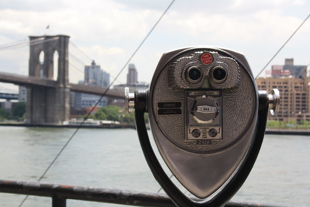 Viewing the Brooklyn Bridge