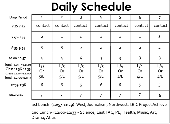 Daily Schedule Of A Student | Daily Planner