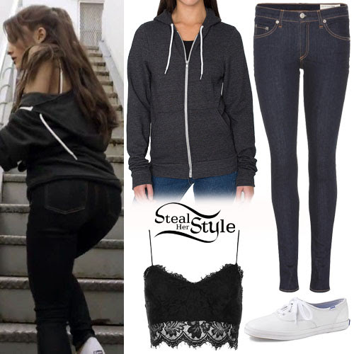 "ariana grande ""one last time"" video outfit  steal her style"
