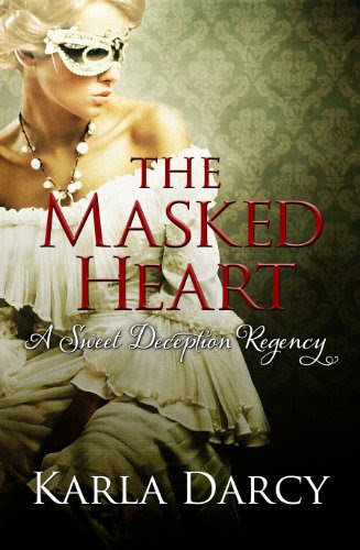 The Masked Heart (Pride Meets Prejudice #2) by Karla Darcy