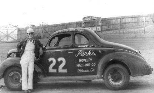 Red Byron e seu Oldsmobile 1949