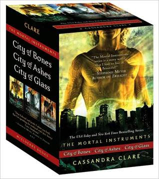Cassandra Clare: The Mortal Instrument Series: City of Bones; City of Ashes; City of Glass
