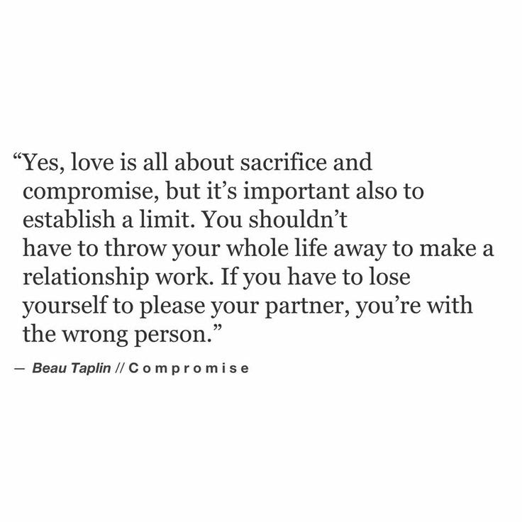 Compromise Quotes For Relationships