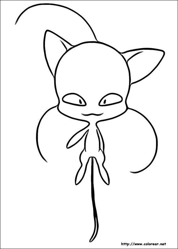 Dibujos Para Colorear De Miraculous Las Aventuras De Ladybug