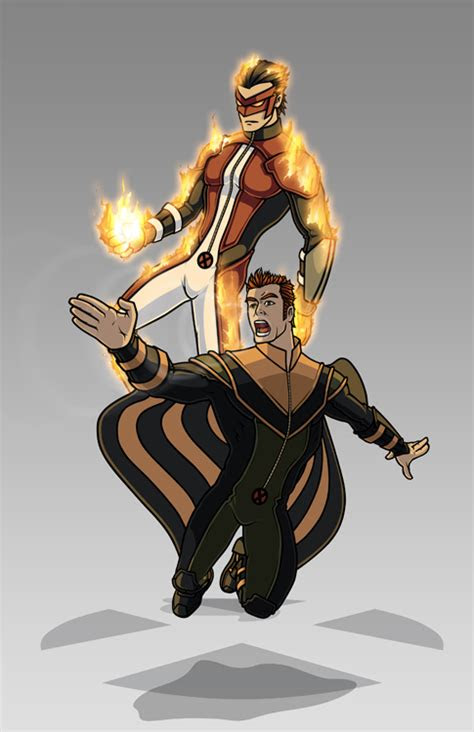 men costume redesign sunfire  banshee  hiroki