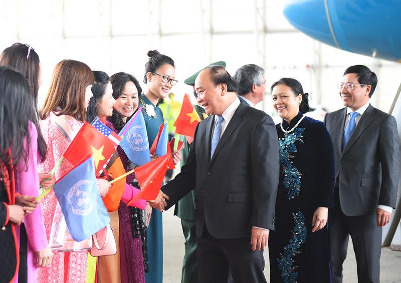 Thủ tướng thăm Mỹ,Thủ tướng Nguyễn Xuân Phúc,Nguyễn Xuân Phúc,Tổng thống Donald Trump