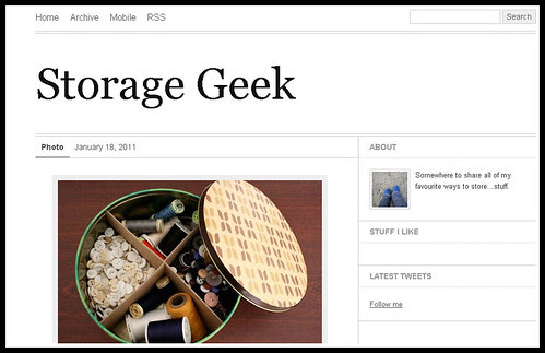 Storage geek Screenshot