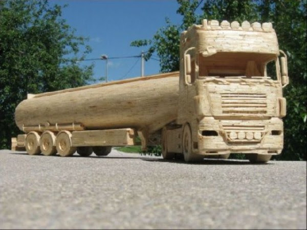 2102 Impressive Matchsticks Vehicles (20 photos)