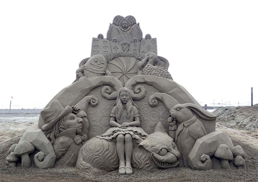 As extraordinárias esculturas de areia de Toshihiko Hosaka 12