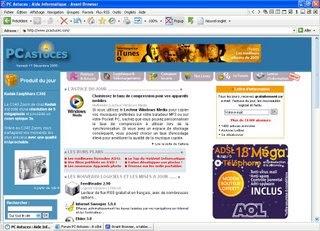 Avant Browser  en version portable