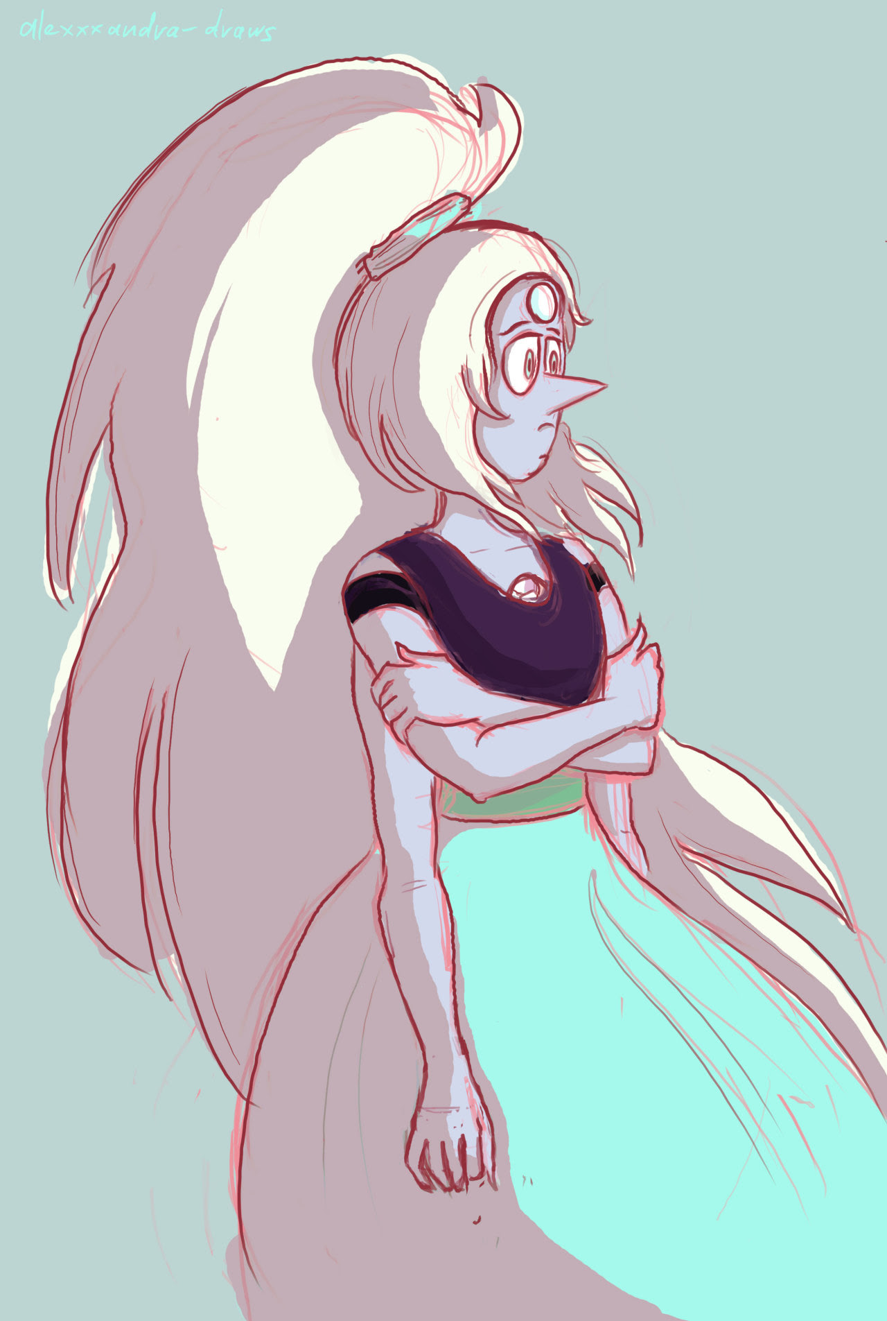 ~ Yet another request, this time for @aiyumedayori ! It's a fusion of Amethyst 4 and Pearl 4 from this palette request (I don't take in more requests so far, sorry!). Hope you'll like it! I also have...