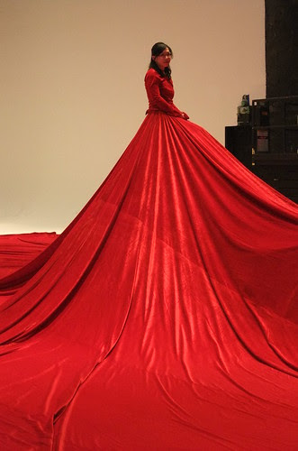 red dress: a sultry world