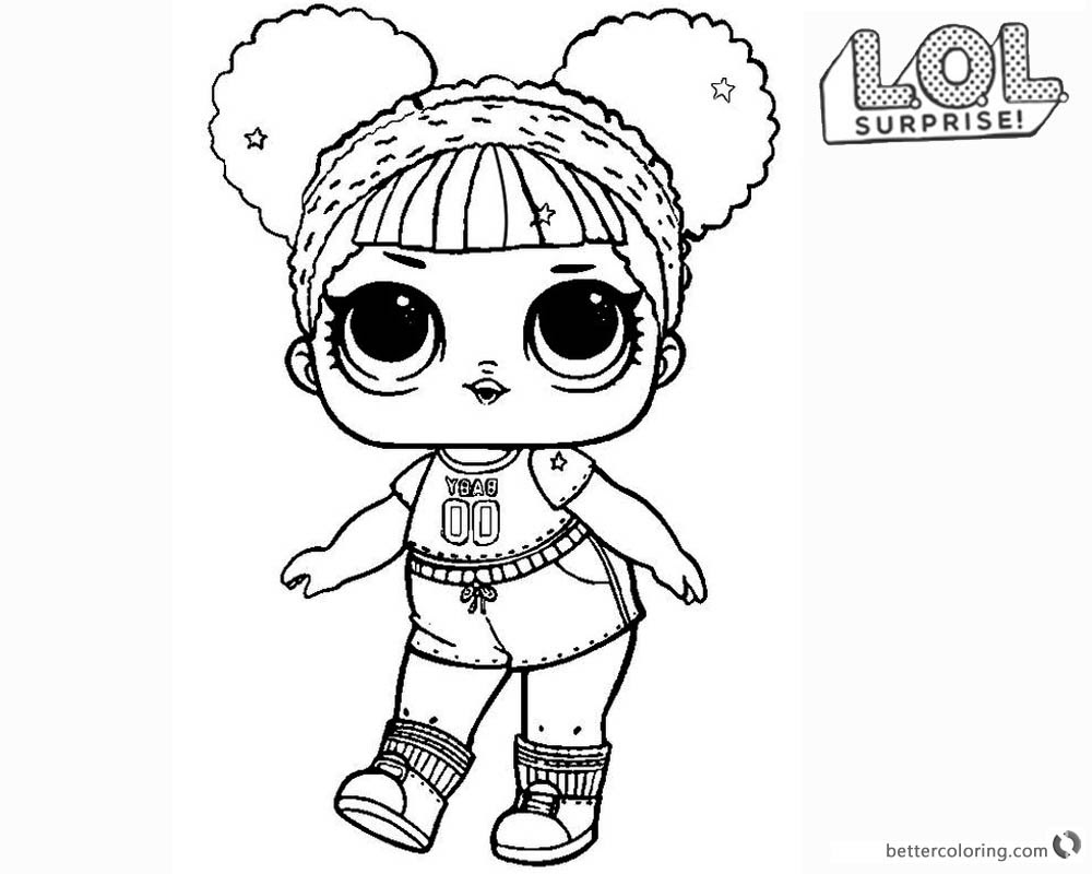 Staggering Lol Dolls Colouring Pages Coloring Doll Printable Unicorn