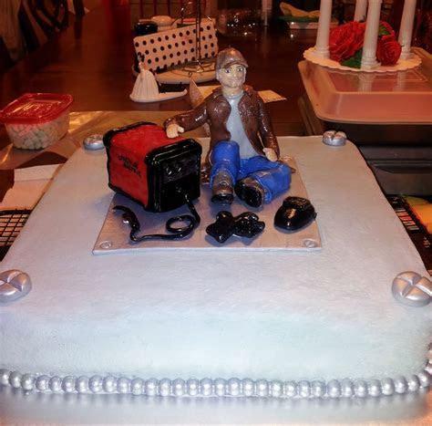 welding grooms cake   Groom's cake   Pinterest   Groom