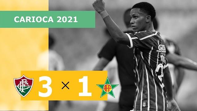 Fluminense 3 x 1 Portuguesa-RJ – Gols – 09/05 – Campeonato Carioca 2021
