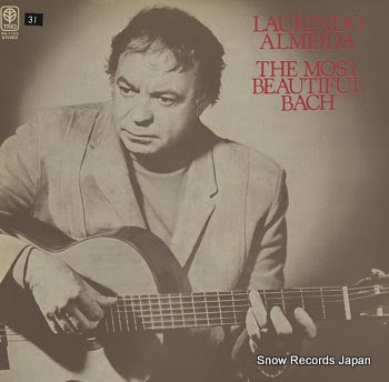 ALMEIDA, LAURINDO most beautiful bach, the
