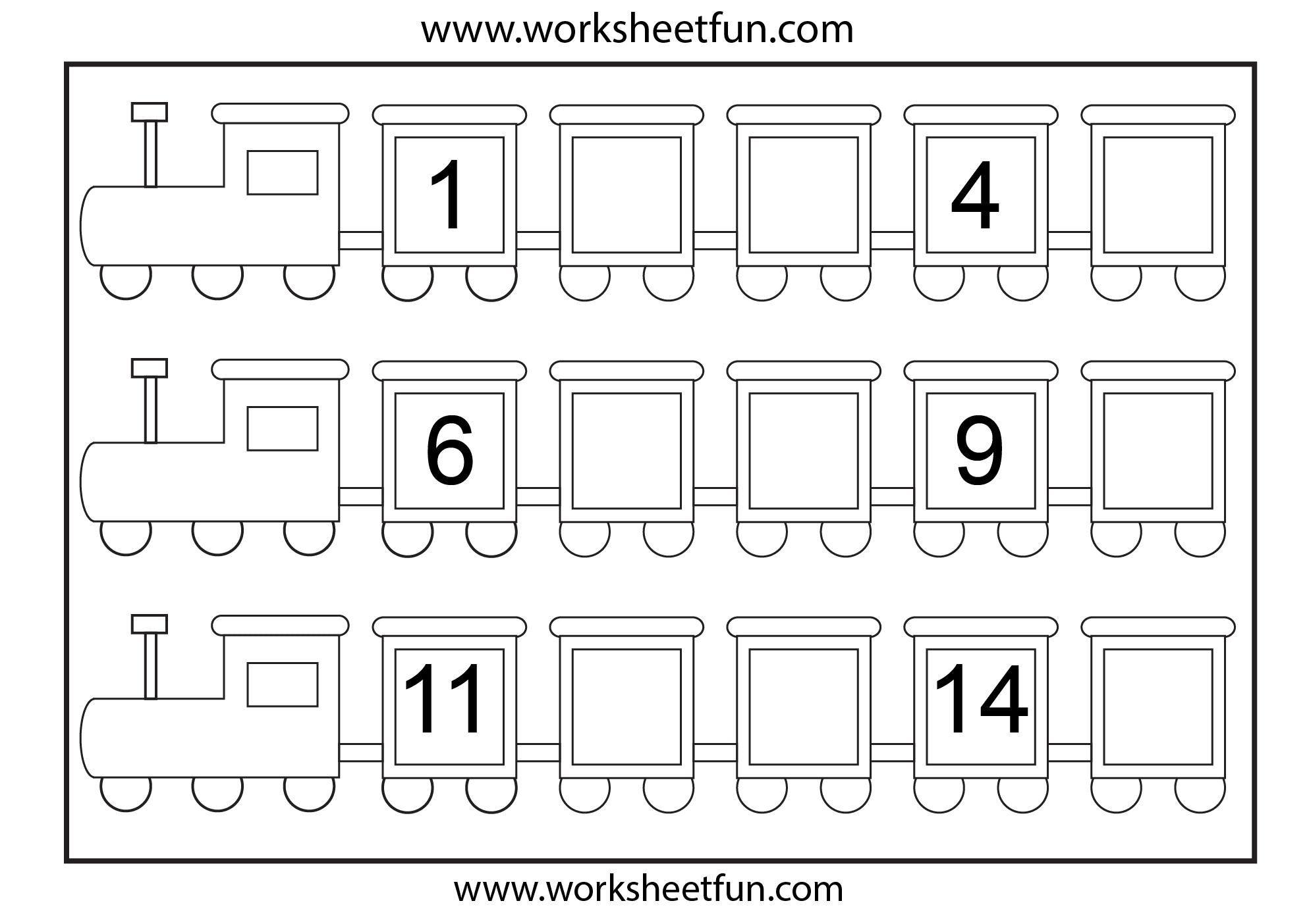 missing number worksheet: NEW 684 MISSING NUMBER ...