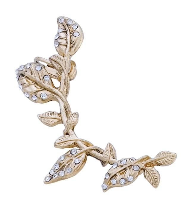 Bijou Brigitte #Earcuff - Flower Branch