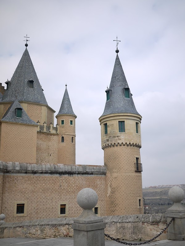 塞哥維亞城堡 Alcázar de Segovia