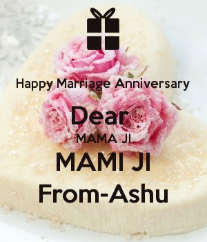 Happy Marriage Anniversary Mama Mami Cake Image The Galleries Of