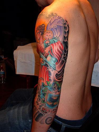 Aqua Tattoo Images Designs